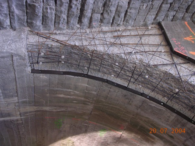 cathodic protection of steel in tunnels